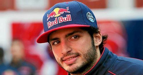 En la imagen, el piloto espa�ol de Toro Rosso, Carlos Sainz.