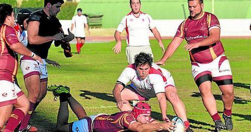 El Helvetia Rugby supo sufrir para amarrar en los instantes finales una importante victoria a domicilio.