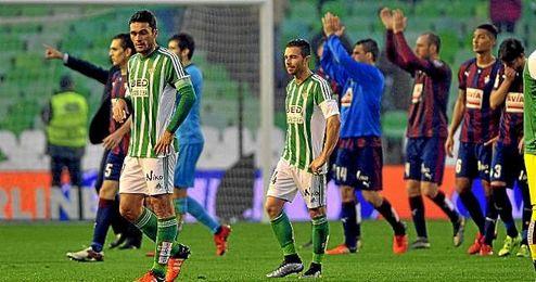 Rubén Castro y Jorge Molina.