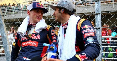 Carlos Sáinz y Verstappen son la pareja de moda en la Fórmula 1.