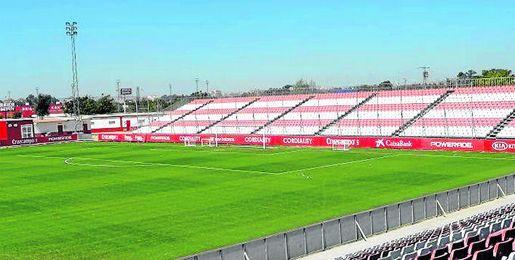 Imagen del campo principal de la ciudad deportiva.