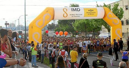 Imagen de la Carrera Popular de Miraflores 2015.