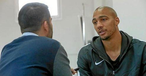 N�Zonzi, durante su entrevista con ESTADIO Deportivo.