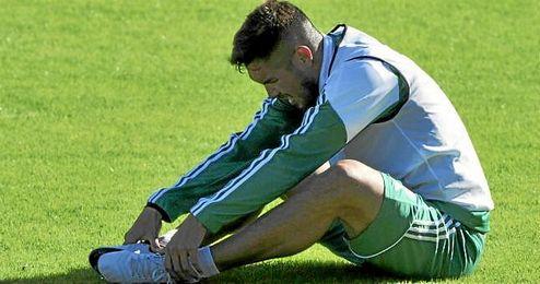 La lesión de Vargas no es grave.