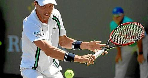 En la imagen, el tenista espa�ol Roberto Bautista.