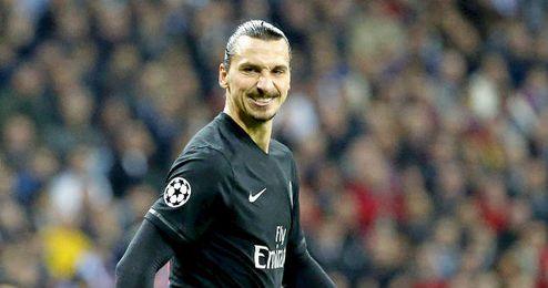 En la imagen, Zlatan Ibrahimovic.