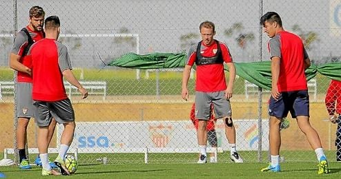 Krohn-Dehli ha vuelto a los entrenamientos con el grupo.