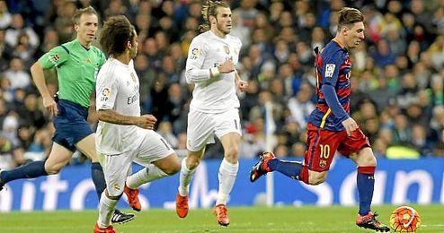 Real Madrid-Barcelona, de la primera vuelta.