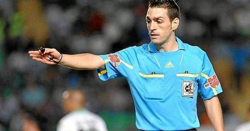 Prieto Iglesias arbitr� el Betis-Eibar-