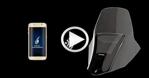 El Samsung Smart Windshield es una idea conceptual y no un producto real.