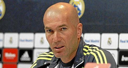 """""""Lo que tenemos que hacer es pensar que es eso y disfrutar"""", afirmó Zidane."""