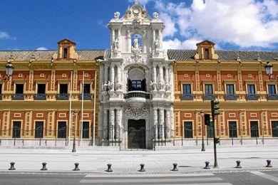 Imagen del Palacio de San Telmo.