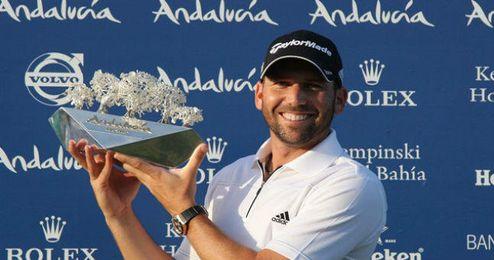 Sergio Garc�a, referente del golf espa�ol.
