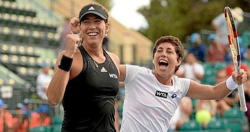 El equipo español contará con sus dos mejores tenistas: Garbiñe Muguruza y Carla Suárez.