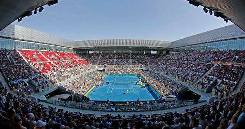 Imagen de la Caja Mágica, pista del Mutua Madrid Open.