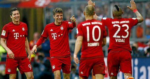 El Bayern de Munich est� m�s cerca de sumar otro t�tulo.