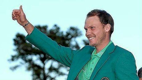 Danny Willett es el gran protagonista del mundo del golf tras ganar el Masters de Augusta.