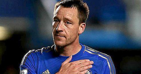 El capitán del Chelsea, John Terry.