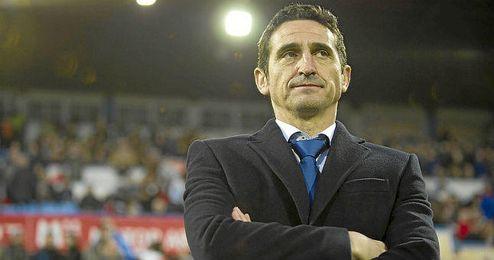 Manolo Jim�nez, exentrenador del Sevilla F.C.