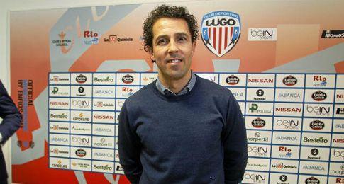 Durán, técnico del Lugo.