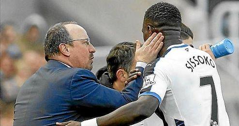 Sissoko hizo el tanto del triunfo para el Newcastle.