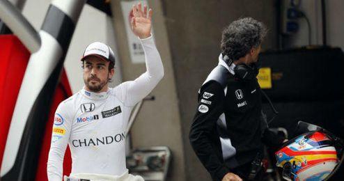 Alonso esperaba estar más arriba.