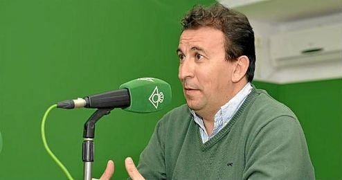 José Miguel López Catalán, en Radio Betis.