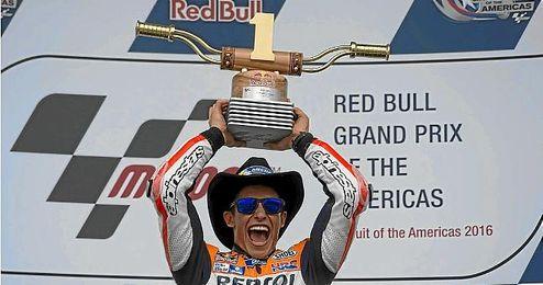 Marquez espera con ganas la carrera de Jerez.