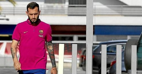 Aleix Vidal no estará esta tarde en el estadio de Riazor.