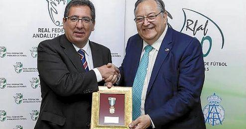 En la imagen, Antonio Pulido y Eduardo Herrera.