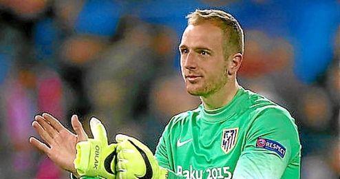 A falta de cuatro jornadas para el final del campeonato, el esloveno sólo ha encajado 16 goles.