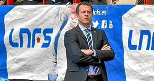 Jesús Velasco, entrenador del Movistar Inter.