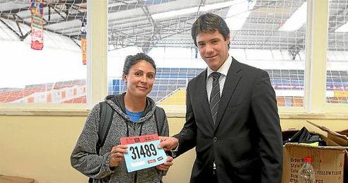El delegado de Deportes, David Guevara, destaca el hecho de que una de cada tres participantes sea mujer.