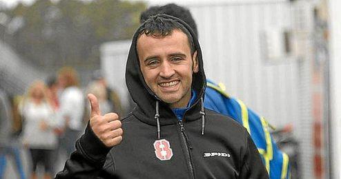 Héctor Barberá se mostró muy feliz por el rendimiento de la moto durante los test de hoy en Jerez.