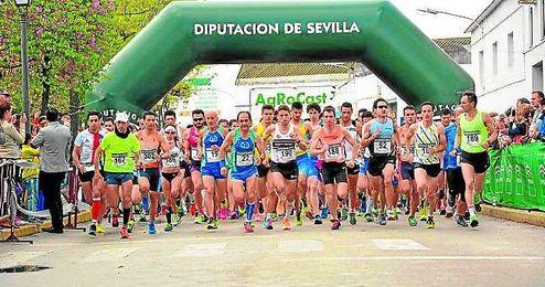 Éxito de participación y organización en la XII edición de la Carrera Popular El Coronil.