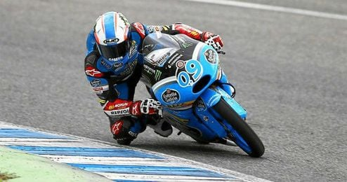 Jorge Navarro opta este a�o al t�tulo de Moto3.