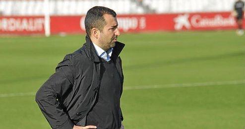 Diego Martínez, en un partido de esta temporada.