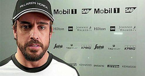 Fernando Alonso aún no ha puntuado en lo que llevamos de temporada.