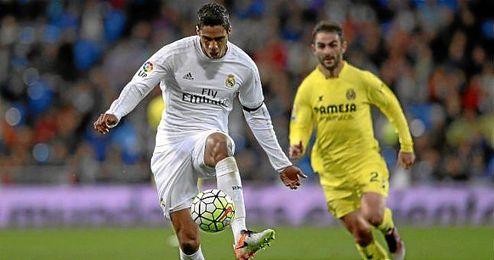 El central del Real Madrid Rapahël Varane.