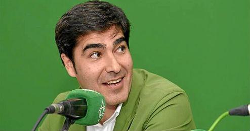 Ángel Haro, presidente del Betis, en una intervención en Radio Betis.