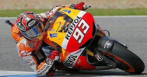 Márquez fue tercero en la carrera del domingo.