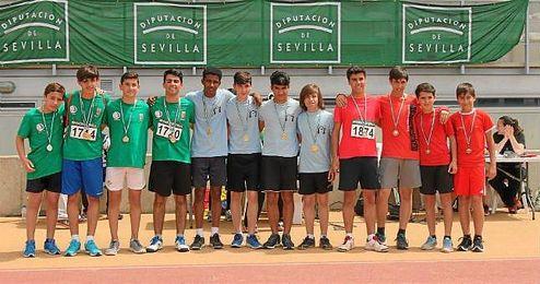 Encuentro Intermunicipal de Institutos de Educación Secundaria en la modalidad de Atletismo por equipos.