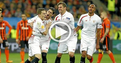 El Sevilla repasa su idilio con la Europa League en este vídeo