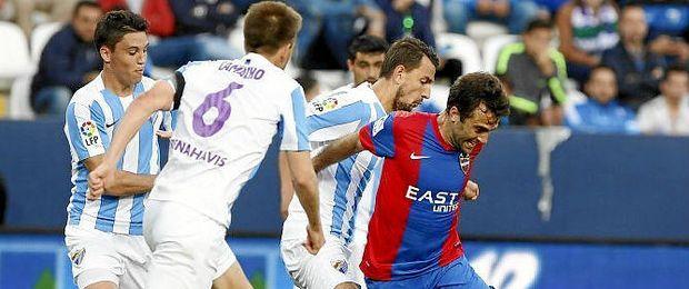Los goles de Rossi no han valido para salvar al Levante.
