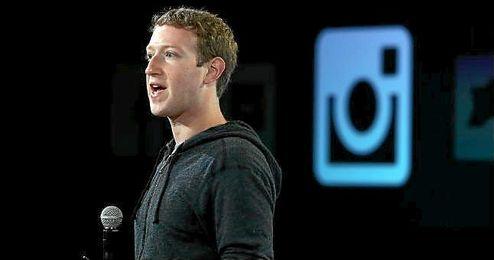 Mark Zuckerberg, dueño de Facebook, que a su vez es propietario de Instagram.