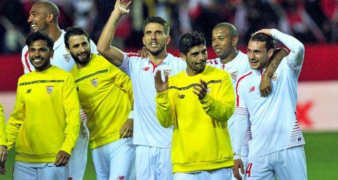 Los jugadores celebran el pase a la final.