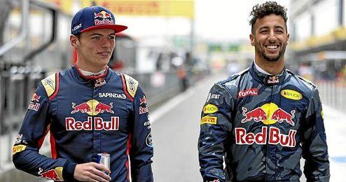 Verstappen será el compañero de Ricciardo en Red Bull.