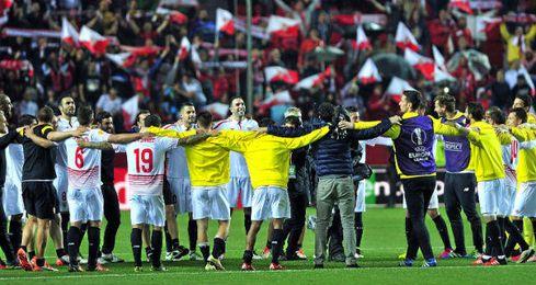 El Sevilla jugará su quinta final de la Europa League.