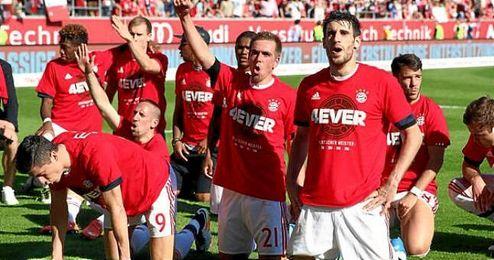 Se trata de la cuarta Bundesliga consecutiva que gana el Bayern.