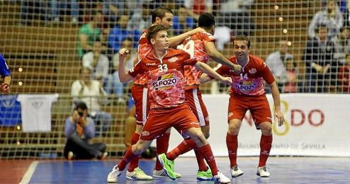 ElPozo Murcia hab�a disputado tres finales y hab�a ca�do en todas.